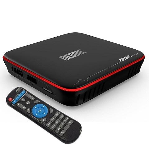 ANDROID TV BOX MECOOL M8S PRO W ( không có điều khiển voice )
