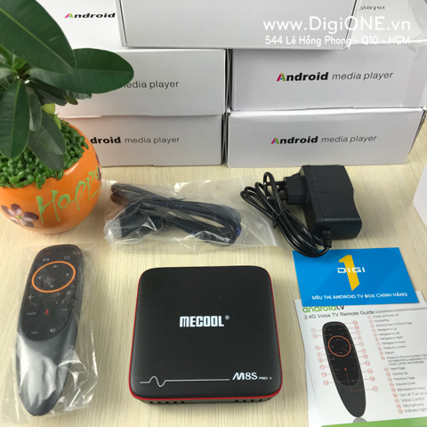 ANDROID TV BOX MECOOL M8S PRO W RAM-2G