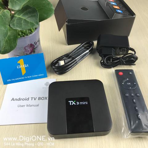 Android TV Box TaNix TX3 Mini RAM-2G