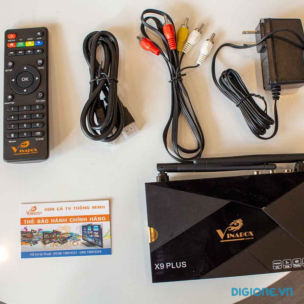 VINABOX X9 PLUS - Android TV Box AMLOGIC S905W 2G/8G ANDROID 8.1.2