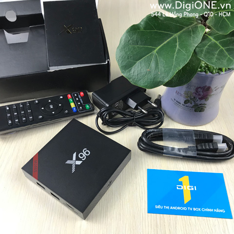 Android TV Box X96W Ram 2G