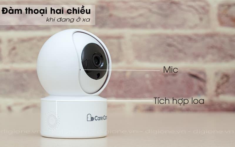 đàm thoại 2 chiều - carecam yh200 1080p