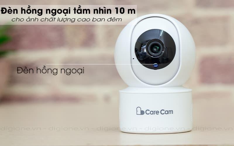 đèn hông ngoại quay ban đêm - carecam yh200 1080p