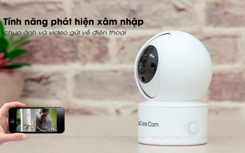 báo động qua điện thoại - carecam yh200 1080p