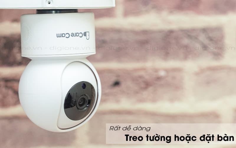có thể treo tường - carecam yh200 1080p
