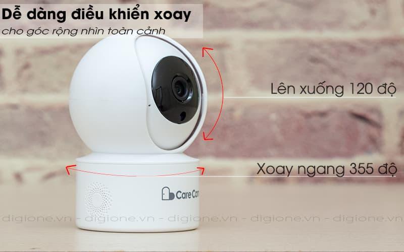 điều khiển xoay - carecam yh200 1080p