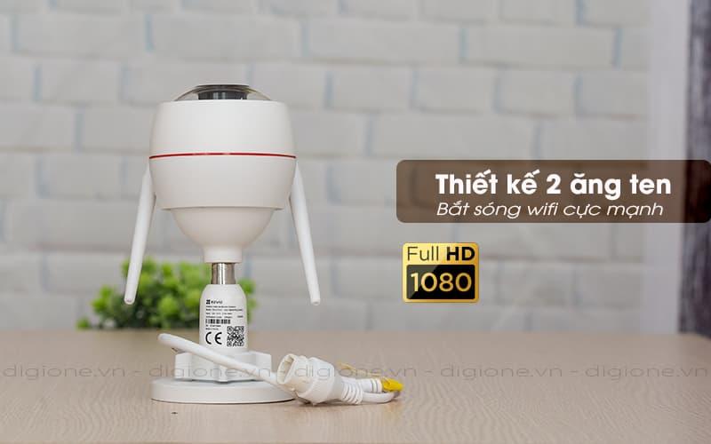 Thiết kế 2 ăng ten - Ezviz C3W CS-CV310 1080P