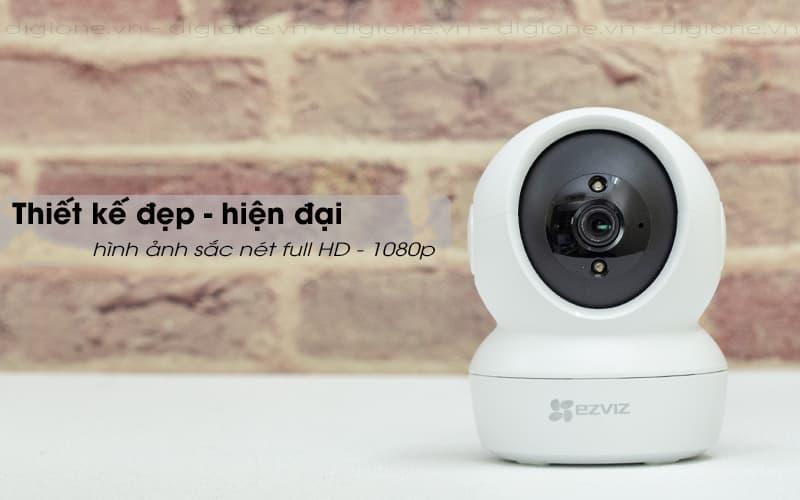 thiết kế đẹp - ezviz c6n 1080p