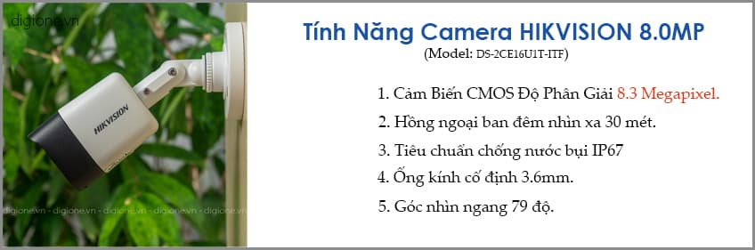 Lắp đặt trọn bộ 7 camera giám sát 8.0MP (4K) siêu nét Hikvision