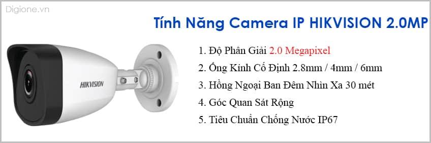Lắp Đặt Trọn Bộ 7 Camera IP Giám Sát 2.0M Hikvision
