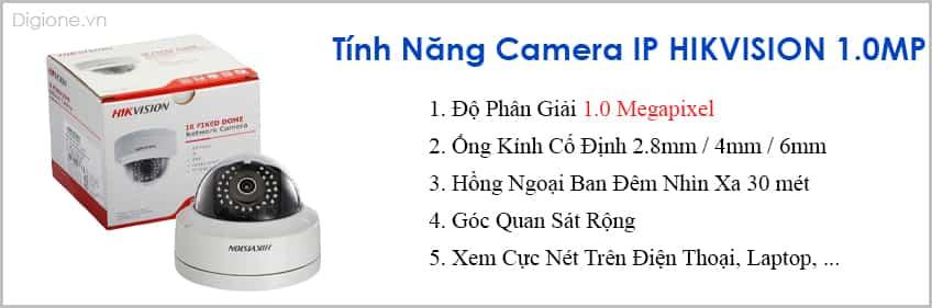Lắp Đặt Trọn Bộ 7 Camera IP Giám Sát 1.0M Hikvision